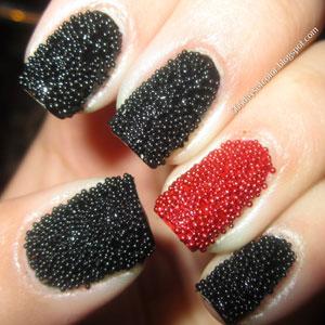 Nail art Caviar
