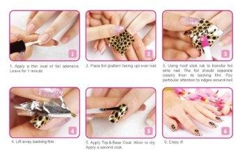Come applicare i foil nail art