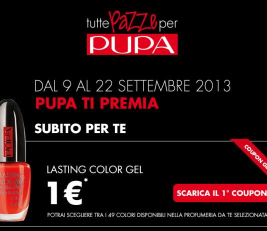 Pupa coupon 2013 per smalto lasting color GEL