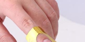 ricostruzione unghie con cartine
