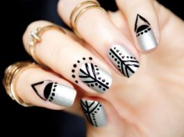 cuticle nails art