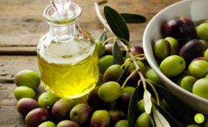 unghie curate olio d'oliva