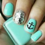 Nails art marinario