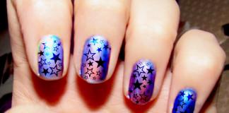 come fare una foil nail art
